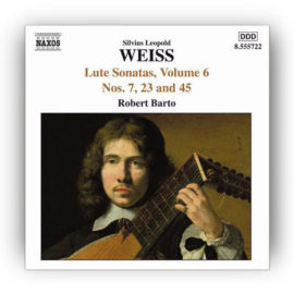 Barto Weiss Lute Sonatas Volume 6