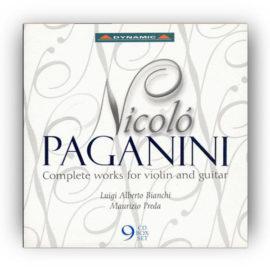 Bianchi Preda Nicolo Paganini Complete Works Violin Guitar