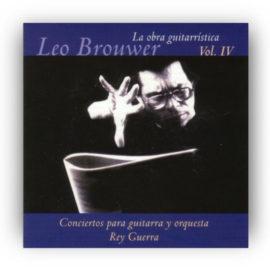 Leo Brouwer Obra Guitarrística