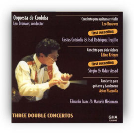 Leo Brouwer Three Double Concertos