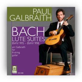 Paul Galbraith Bach Lute Suites BWV 995 996 997 998