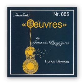 Francis Kleynjans Oeuvres