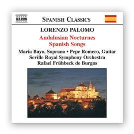 Pepe Romero Lorenzo Palomo Andalusian Nocturnes Spanish Songs