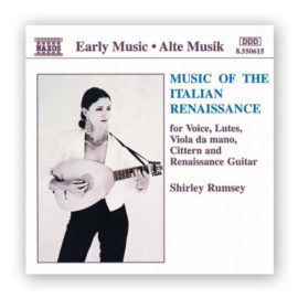 Shirley Rumsey Music of the Italian Renaissance