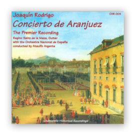 Regino Sainz de la Maza Joaquín Rodrigo Concierto de Aranjuez