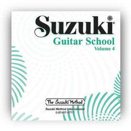 Suzuki- Guitar School Volume 4