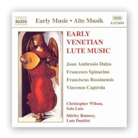 Christopher Wilson Shirley Rumsey Early Venetian Lute Music