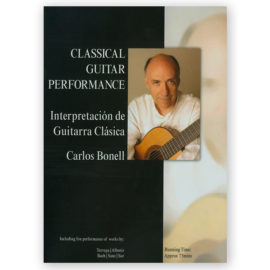 Carlos Bonell Classical Guitar Performance