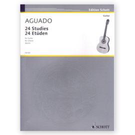 Dionisio Aguado 24 Studies