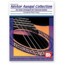 Néstor Ausqui Six Solos Arranged for Classical Guitar