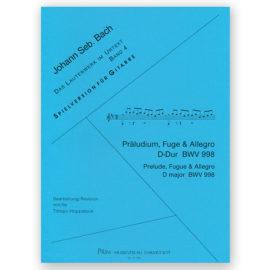 Johann Sebastian Bach Prelude Fugue &Allegro BWV 998 Tilman Hoppstock