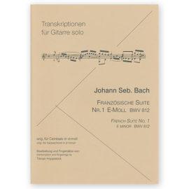 Johann Sebastian Bach French Suite BWV 812