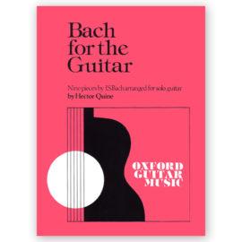 Johann Sebastian Bach Nine Pieces for the Guitar Hector Quine