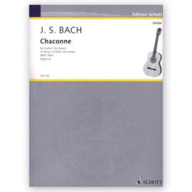 Johann Sebastian Bach Andrés Segovia Chaconne in d minor BWV 1004