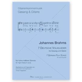 Johannes Brahms 7 German Folk Songs