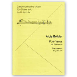 Alois Bröder Five Poems