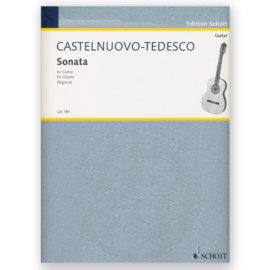 Mario Castelnuovo-Tedesco Sonata Opus 77 Andrés Segovia
