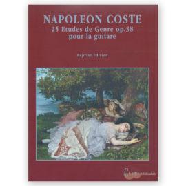 Napoléon Coste 25 Etudes de Genre Op. 38
