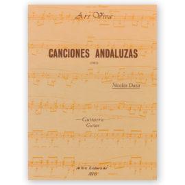 Nicolás Daza Canciones Andaluzas