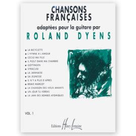 Roland Dyens Chansons Françaises Volume 1