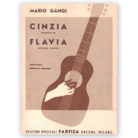 Mario Gangi Cinzia Flavia