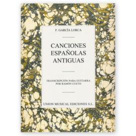 sheetmusic-garcia-lorca-canciones-espanolas-antiguas