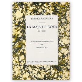 sheetmusic-granados-maja-goya-llobet
