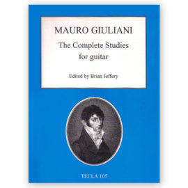 Mauro Guiliani Brian Jeffery The Complete Studies for Guitar