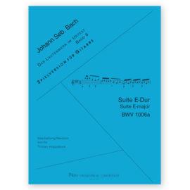 Tilman Hoppstock Johann Sebastian Bach 1006a