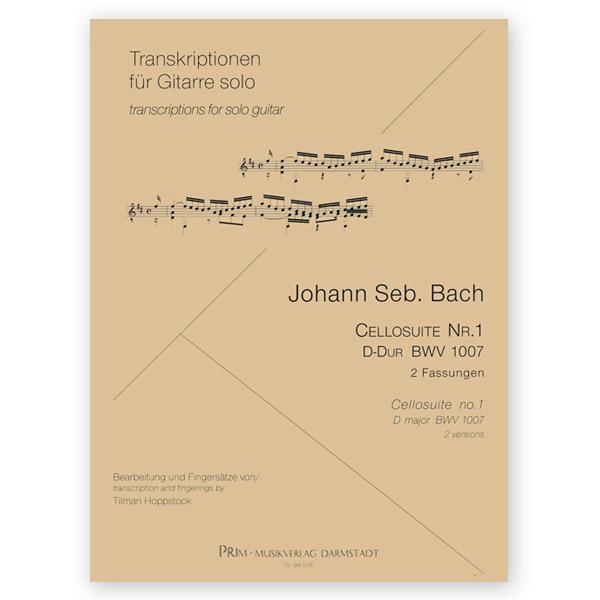 Bach, Johann Sebastian  Cello Suite Nº 1 BWV 1007  Arr  Hoppstock