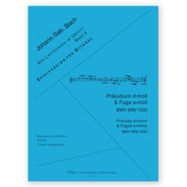 Tilman Hoppstock Johann Sebastian Bach 999 - 1000