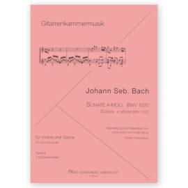 Hoppstock Johann Sebastian Bach Sonata a minor bwv 1020