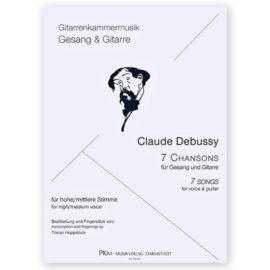 Hoppstock Claude Debussy 7 Songs
