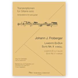 Johann Jacob Froberger Hoppstock Lamento Suite 2
