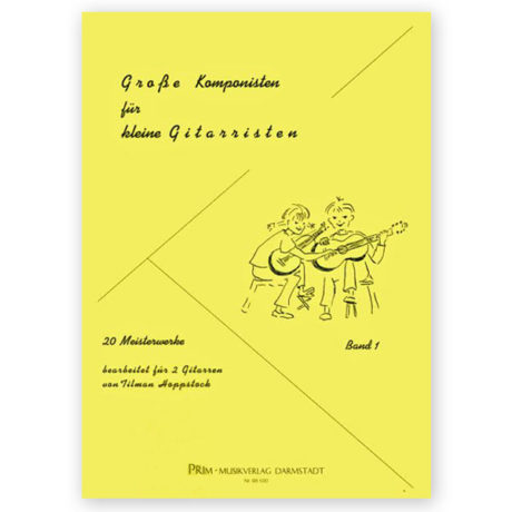 Hoppstock Great Composers Little Guitarists Vol 1