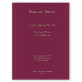 Hoppstock Grosmann Francisco Guerau Poema Armónico