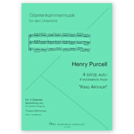 Hoppstock Henry Purcell 4 Movements King Arthur