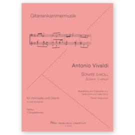 Hoppstock Antonio Vivaldi Sonata g minor