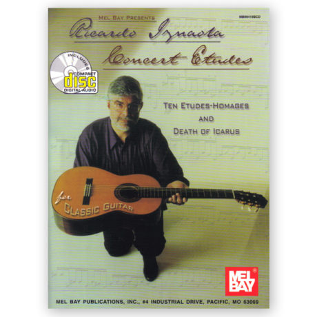 Iznaola, Ricardo. Concert Etudes w/CD
