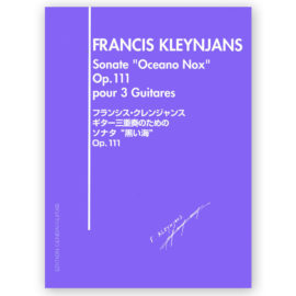sheetmusic-kleynjans-oceano-nox
