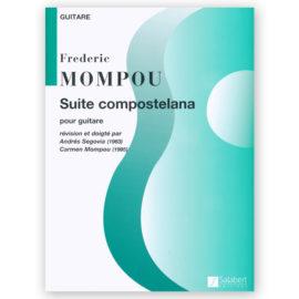Federico Mompou Suite Compostelana Andrés Segovia