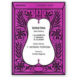 Federico Moreno Torroba Sonatina Andrés Segovia