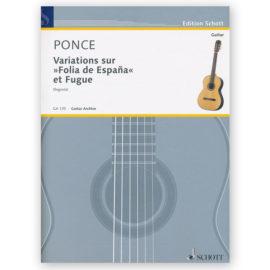 """Ponce, Variations sur """"Folias de España"""""""