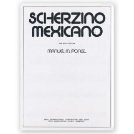 Ponce, Scherzino Mexicano