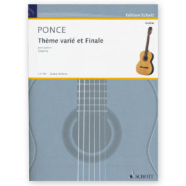 Ponce, Thème varié et Finale