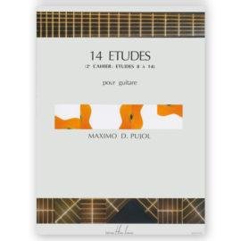 Máximo Diego Pujol 14 Etudes Volume 2