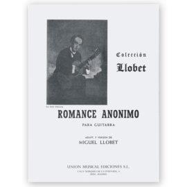 Romance Anónimo MIguel Llobet