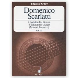 sheetmusic-scarlatti-4-sonatas-barrueco
