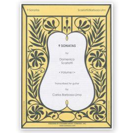 sheetmusic-scarlatti-9-sonatas-vol-1-barbosa