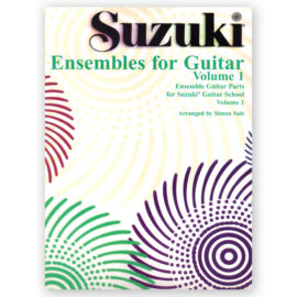 Suzuki Ensembles for Guitar Volume 1 Simon Salz